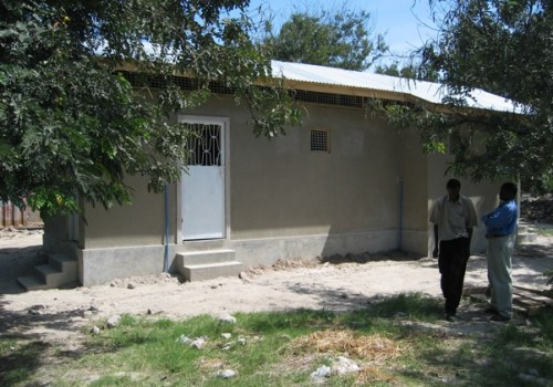 School Sanitation Project at Mapambano School