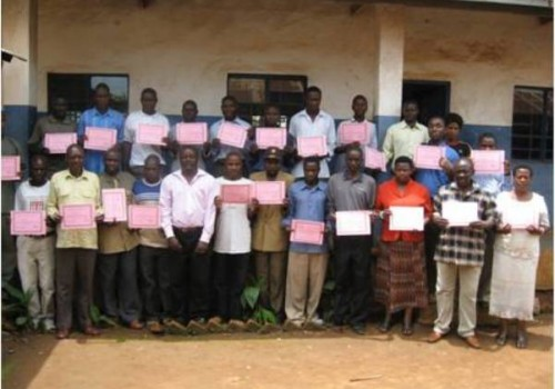 Sanitation Training in Karagwe District